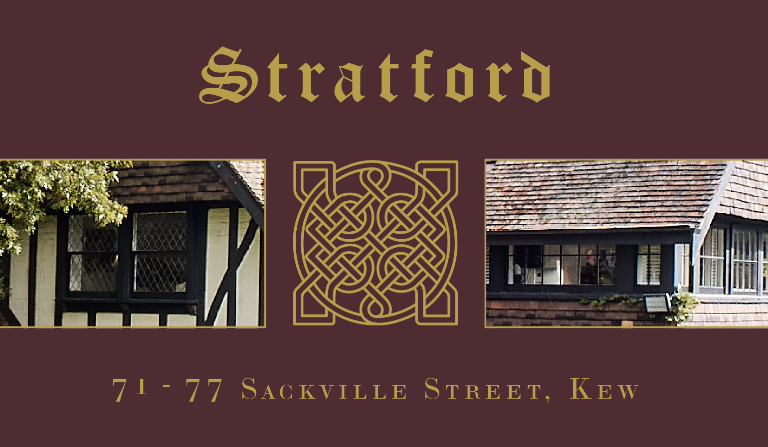 STRATFORD Another Time. Another Place.
